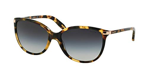 Ralph by Ralph Lauren Women's 0ra5160 Cateye Sunglasses, VINTAGE TORT, 57.0 ()