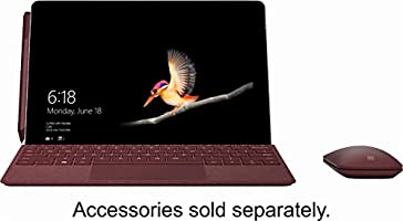 Microsoft Surface Go (Intel Pentium Gold 4415Y) 128 GB NVMe SSD Pick Your Own: Type Cover, Pen, Mouse, Docking Station and More
