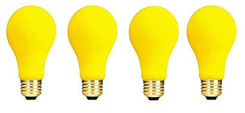 Yellow Bug Light Bulb - 3