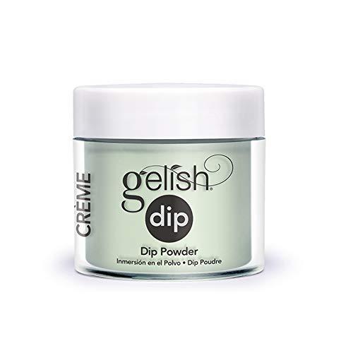 肘掛け椅子検閲ズームインするHarmony Gelish - Acrylic Dip Powder - Mint Chocolate Chip - 23g / 0.8oz