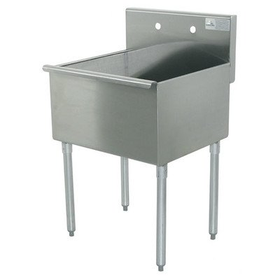 400 Series Single 1 Compartment Floor Service Sink Size: 41