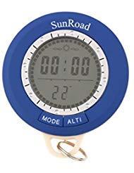 8 in1 Waterproof Mini Multifunction Digital Altimeter Barometer Compass Clock Thermometer - Clock Compass Altimeter