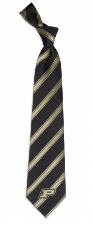 Purdue University Boilermakers NCAA College Sports Striped Mens Neck Tie