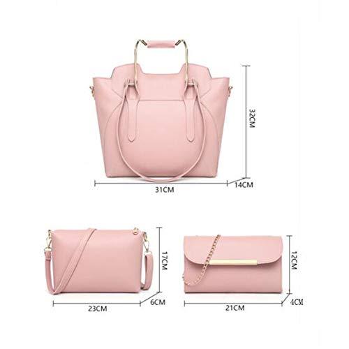 Piezas Para 5 Elegir 14cm Casual Versátil 32 Simple Bolso Y Red Trend De 31 Colores Xrkz Traje Tres red Handbag Wild T8qnUZW