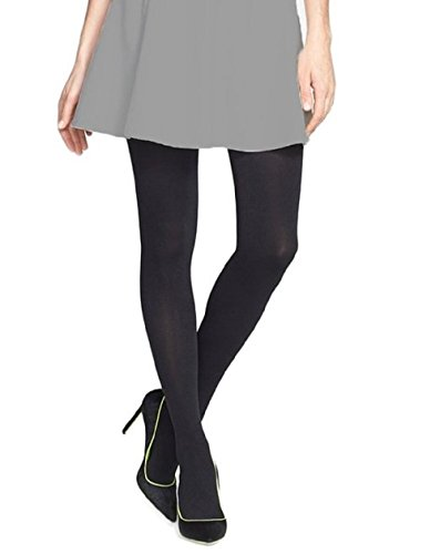- DKNY Women's Super Opaque Coverage Control Top Tights-2-Pair Pack-Medium-Black-Style 0B883