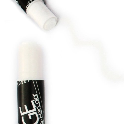 White Hair Chalk - Edge Blendable Hair Color -