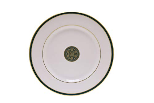 (Royal Doulton China OXFORD GREEN Salad Plate(s) EXCELLENT)