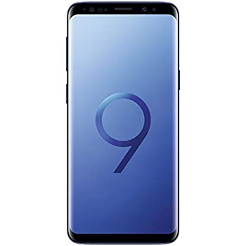 Samsung Galaxy S9 (Dual-SIM) 64GB SM-G960F Factory Unlocked 4G Smartphone (Coral Blue) - International Version