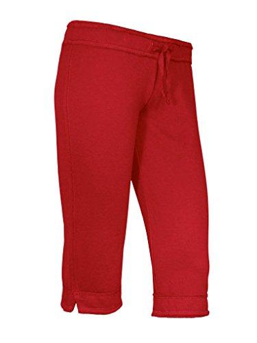 Kavio! Junior Raw Edge Capri Pant Red M