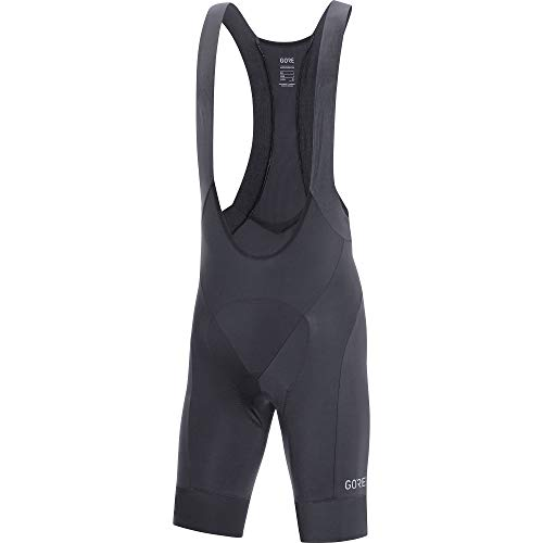 - GORE WEAR C5 Men's Cycling Bib Shorts with Seat Insert, L, Black