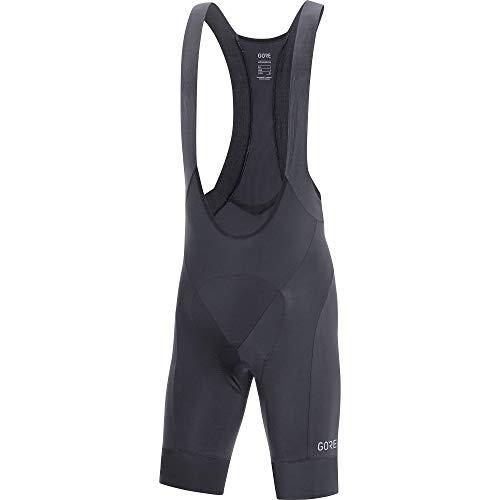(GORE WEAR C5 Men's Cycling Bib Shorts with Seat Insert, L, Black)
