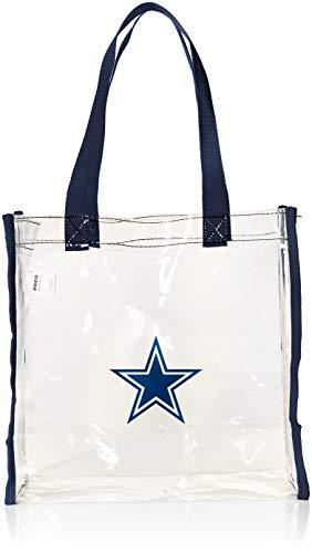 (Dallas Cowboys Clear Reusable Bag )
