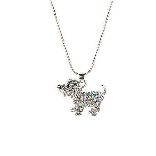 Zealmer Zirconia Handcrafted Necklace Animials