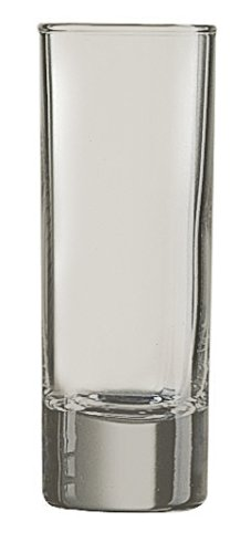 (Frost Islande Cordial Shot Glass - Additional Colors Available - 2.25 oz Set of)