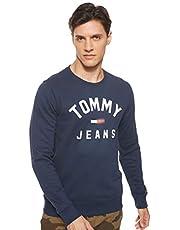 Tommy Hilfiger Tjm Essential Flag Crew Erkek Sweatshirt