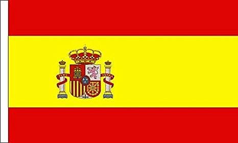 Bandera de España Manga Escudo adecuado para barcos 45cm x 30cm (18