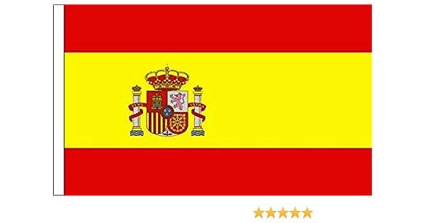 Bandera de España Manga Escudo adecuado para barcos 45cm x 30cm ...