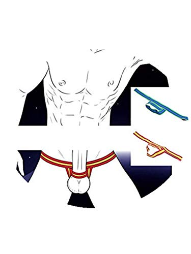 Ximandi Men's Underwears, Pouch Thongs G String Briefs Shorts Bikini Soft Pants (2PCS, -
