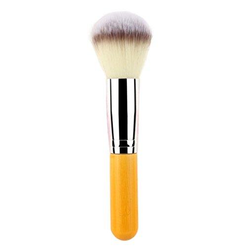 Laimeng,1 Pcs Cosmetic Nylon Hair Brushes Foundation Powder