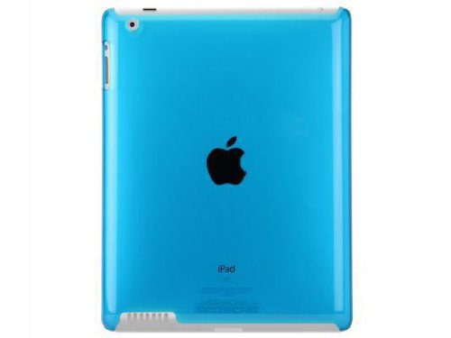 Scosche snapSHIELD P2 Polycarbonate Case iPad 2 - Blue (IPD2PCBL)