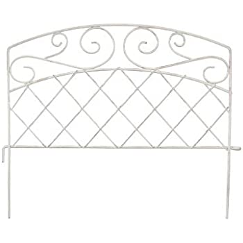 Amazon Com Panacea French Country Scroll Border Fence