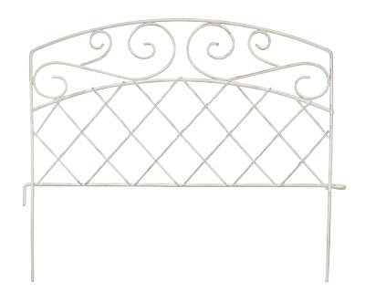 (Panacea French Country Scroll Border Fence, 15