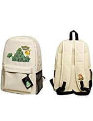 Pokemon White Full Size School Backpack