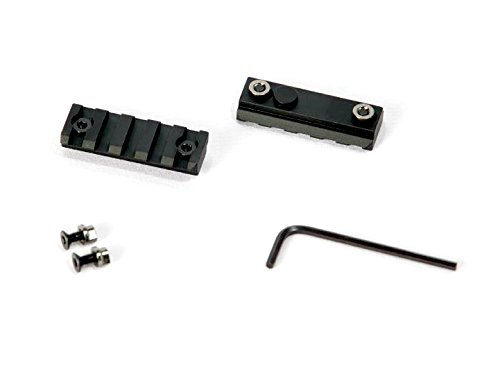 KeyMod Rail Section Lightweight Aluminum 1913 Picatinny Rail by Breek (2 Pack 2 Inch) (Bcm Mod Grip)
