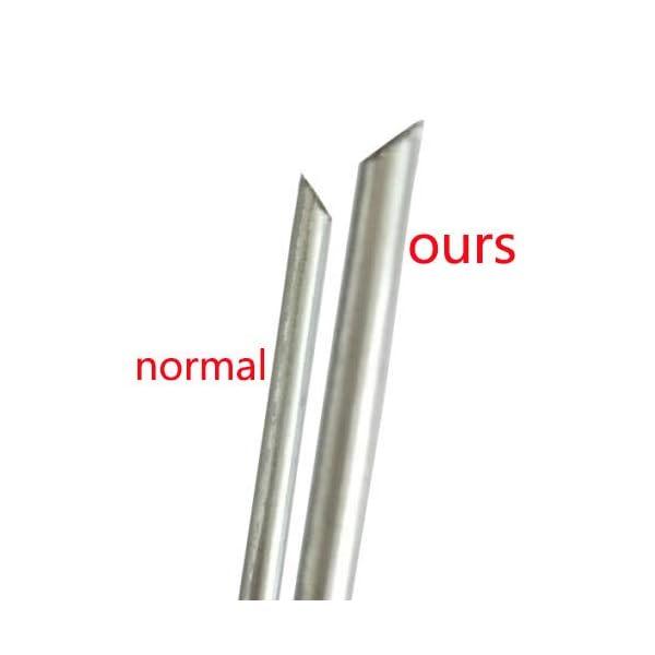 100 ANTI-RUGGINE ancoraggio a terra VERZINKT - 150 millimetri x 25mm x 3,0 millimetri (gardenstaple_W_100_UK) 4 spesavip