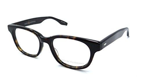 Barton Perreira RX Eyeglasses Frames Wendel 49x18 Dark Walnut Made in - Barton Eyeglasses Perreira