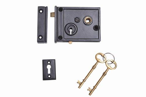 horizontal rim lock set - 5