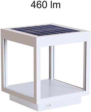 Lámpara LED solar para exterior/jardín, farol, lámpara de mesa con batería Beneito Faure VISOR solar de aluminio 3,5 W 120°, color blanco: Amazon.es: Iluminación