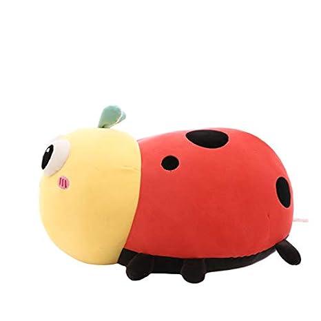 Cartoon Ladybug Plush Toy,Creative Cute Soft Ladybug Doll ...