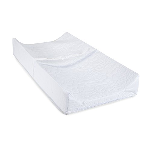 Big Oshi Contoured Baby Changing Pad - Waterproof Cover for Easy Wipe-Clean Cleaning - Changing Table Pad is Great for Babies, Newborns or Toddlers - Comfortable Foam, 32x16