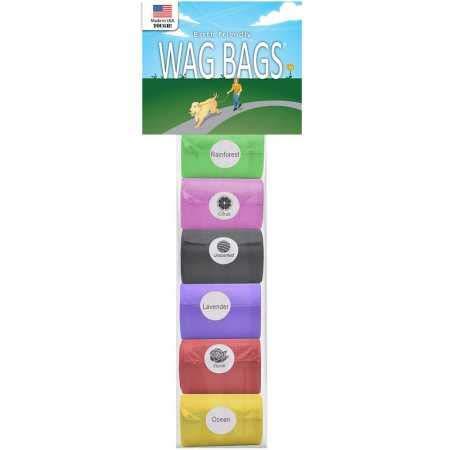 Amazon.com: Wag bolsas bolsas de recambio arco iris ...