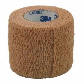 "Amazon.com: 3M COBAN ADHESIVE WRAP TAN 1"" X 5 YD ROLL, SOLD EACH: Health & Personal Care"