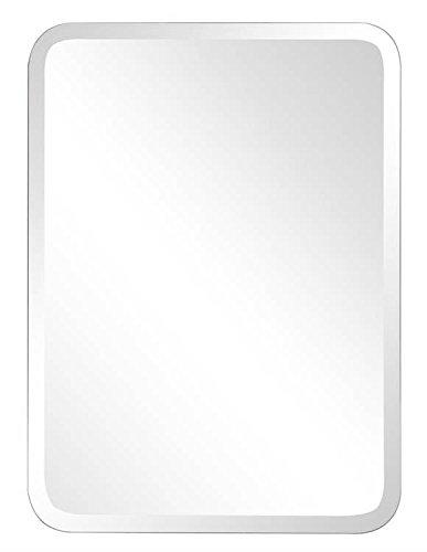 contemporary oblong mirror