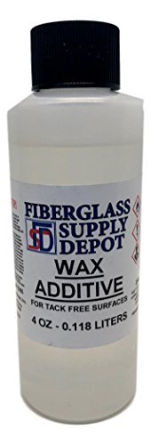 Fiberglass Supply Depot Wax Additive - 4 oz Surfacing Agent for use with Gelcoat and Polyester resins