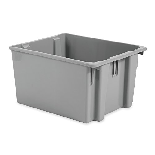 Rubbermaid FG173200GRAY Commercial Storage Box - 2.6 cu. ft.