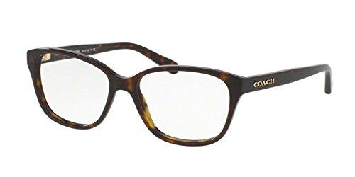 Coach Women's HC6103F Eyeglasses Dark Tortoise - Coach Tortoise Eyeglasses