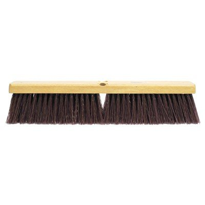 Weiler Garage Floor Brush – 18'', Maroon Synthetic Fill