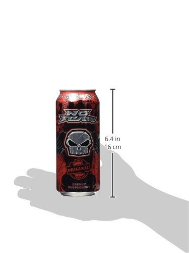 Amazon.com : No Fear Energy, Original, 16 Ounce Cans (Pack of 12 ...
