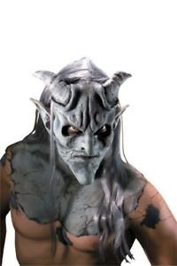 GARGOYLE LATEX MASK DEMON DEVIL SPECIAL EFFECT PROSTHETIC MONSTER COSTUME MAKEUP (Prosthetic Clown Costume)
