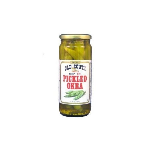 Old South Okra, Pickled, Hot