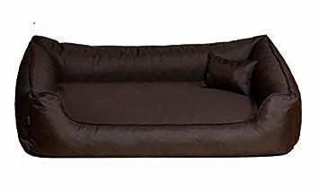 Cama de perro DONALD ORTHO Vital Anti-hair 150 cm XXL marrón revestimiento de teflón con Colchón de confort: Amazon.es: Productos para mascotas