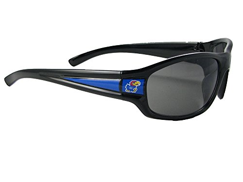 Kansas Jayhawks Black Sunglasses - 8