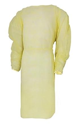 MCKESSON Medi Pak rendimiento traje amarillo de aislamiento ...