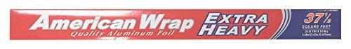 Extra Heavy Aluminum Foil (American Wrap Extra Heavy Aluminum Foil, 18