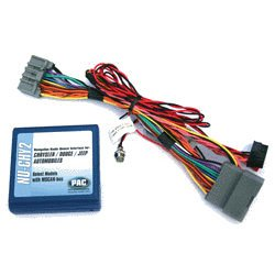 Pac Navigation Unlock Interface-Chrysler/Dodge/Jeep Destination Entry Factory Reverse Camera