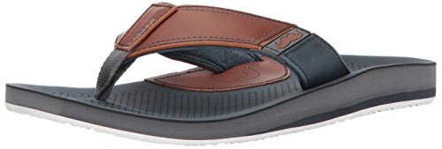 Cobian Men's Movember Flip Flop, Navy, 11 M US